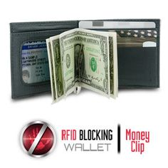 You always want to protect your identity, especially while traveling, so do it with the Travelon Safe ID Money Clip Wallet with RFID Blocking. Important documents such as your passport, credit cards, and drivers license all contain RFID chips that broadcast your personal information