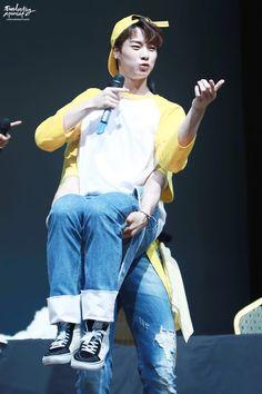 [09.07.16] Guro Fansign Event - EunWoo e MoonBin