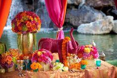 #exotic wedding