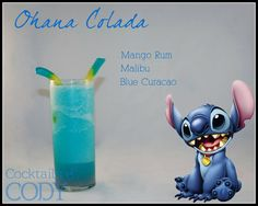 DISNEY COCKTAILS BY CODY ~ Stitch