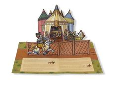 Castle: Medieval Days and Knights (A Sabuda & Reinhart Pop-up Book): Kyle Olmon, Tracy Sabin: 9780439543248: Amazon.com: Books