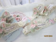 Handmade embellishment created by Msgardengrove1 Annie
