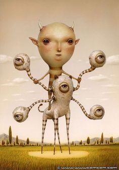 Pioneer - Twisting Reality - surrealism by Naoto Hattori
