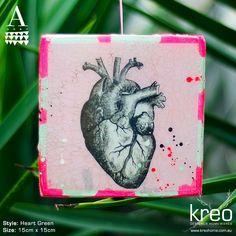 Heart Green  $65.00