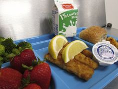 Today's Summer Meals Tray. Did you know there are Child Nutrition Programs across the U.S. providing free meals to hungry children ages 18 years and younger? Children shouldn't be hungry when school is out!