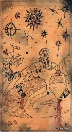 XVII. The Star - Lost Code Of Tarot by Andrea Aste