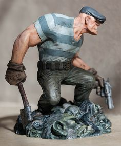 Dark Horse Comics have revealed a new statue based on Eric Powell's The Goon at Toy Fair 2015 in New York City.