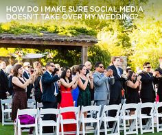 Check out Colin's Answer: How do I make sure social media doesn't take over my wedding? || Colin Cowie Weddings