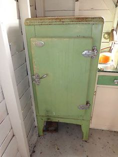 Antique retro refridgerator Circa 1940s