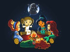 Rebel Princess | Funny, cute & nerdy shirts | TeeTurtle | TeeTurtle