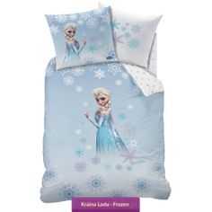 Disney Frozen Elsa Duvet Set - A great bedding set for any fans bedroom - This quilt cover is 100 percent cotton. Frozen Disney, Disney Frozen Bedroom, Frozen 1, Frozen Room, Disney Bedrooms, Frozen Queen, Disney Disney, Disney Princess, 100 Cotton Duvet Covers
