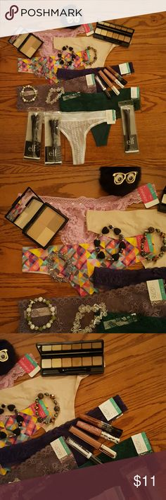 Pastels to keep you at peace This is a beautiful array of pastel panties and accessories that will make a woman look and feel amazing! BNWT Intimates & Sleepwear Panties