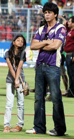Shah Rukh Khan - IPL with Suhana