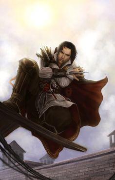 Ezio Auditore da Firenze by AlaisL on DeviantArt Assassin Logo, Assassins Creed Series, Assasing Creed, All Assassin's Creed, Assassin's Creed Brotherhood, Hidden Blade, Edwards Kenway, Ac2, Cosplay