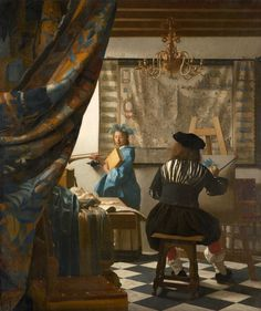 Johannes Vermeer: The Art of Painting, 1666-68