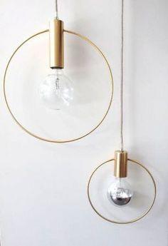 Gorgeous lighting. Een interieur vol ronde vormen voor een frisse en positieve look - Roomed