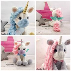 unicorn unicorn doll unicorn plush crochet unicorn unicorn