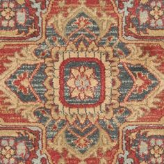 Safavieh Mahal Traditional Grandeur Red/ Natural Rug (3' x 5') - 17098163 - Overstock.com Shopping - Great Deals on Safavieh 3x5 - 4x6 Rugs