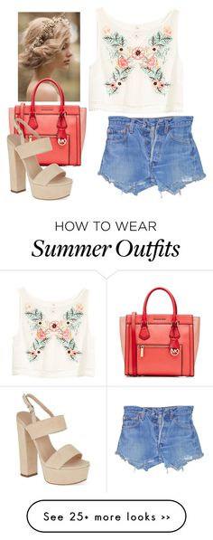 """""""Summer flower outfit"""" by karlaloo on Polyvore"""