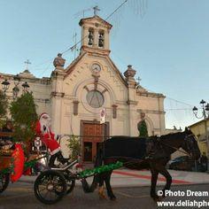 Un giro in carrozza con Babbo Natale in piazza di Chiesa #Pula #Natale2014 #Sardegna foto di Photo Dreams by Deliah @asdMadonnadel MarediNora
