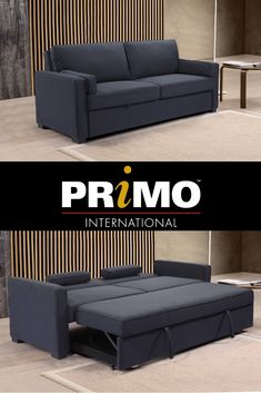 Elio - Media Sleeper  #mediasleeper  #sofa  #sleepersofa  #couch  #furniture Small Space Solutions, Couch Furniture, Sleeper Sofa, Small Spaces, Home Decor, Decoration Home, Lounge Furniture, Sofa Bed, Room Decor