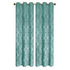 L Room Darkening Grommet Curtain Panel Pair