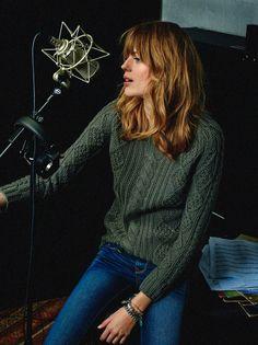jane birkin shoot4 Femke Oosterkamp Channels Jane Birkin for Elle Spain by Enric Galceran