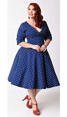 21 Best Plus size vintage dresses images in 2019 | Cute Clothes ...