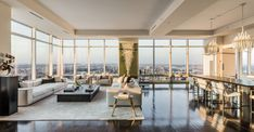New York Penthouse, Penthouse For Sale, Luxury Penthouse, Luxury Apartments, Luxury Homes, New York Apartment Luxury, Manhattan Penthouse, Penthouse Apartment, Sutton Place