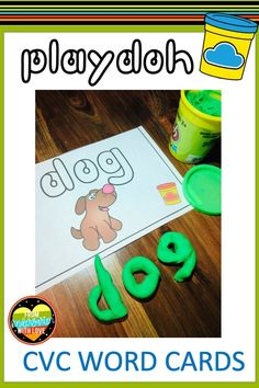 Kindergarten and 1st Grade students will love practicing CVC words with this simple phonics game! This hands on activity is perfect to use as a literacy center all year long! Students will have fun using play-doh to create CVC words during centers time. The multisensory approach also benefits struggling readers and students with dyslexia. This low prep, printable activity is guaranteed to be a hit with your students! #fromkindergartenwithlove #phonicsactivities #literacycenters #kindergarten