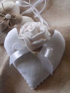 Simple burlap handmade