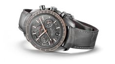 "OMEGA Watches: Speedmaster Grey Side of the Moon ""Meteorite"""
