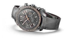 "OMEGA Watches: Speedmaster Grey Side of the Moon ""Meteorite"""