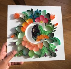 *** Quilling - the magic of paper strips! Quilling Letters, Paper Quilling Cards, Paper Quilling Jewelry, Paper Quilling Patterns, Quilled Paper Art, Diy Quilling Projects, Quilling Work, Quilling Paper Craft, Quilling Flowers