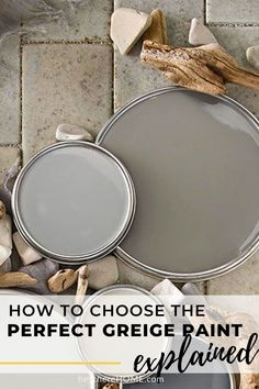 The best explanation I've ever read about how to choose the right paint color! #wallcolor #greige #paint #neutral #choosepaint #interiorpaint via @heytherehome.com Neutral Wall Colors, Greige Paint Colors, Room Paint Colors, Paint Colors For Home, House Colors, Cherry Wood Kitchen Cabinets, Cherry Wood Kitchens, Room Color Design, Accessible Beige
