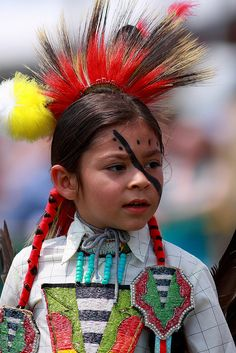 Nanticoke Lenni Lenape indian child***