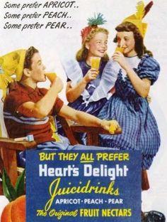 Heart's Delight Juicidrinks 1951