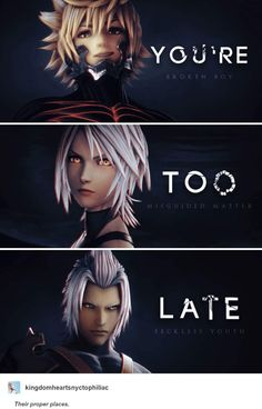 Daily uploads of Kingdom Hearts images uploads before the release of - Gamer House Ideas 2019 - 2020 Kingdom Hearts 3, Kingdom Hearts Wallpaper, Kingdom Hearts Tattoo, Vanitas Kingdom Hearts, Cry Anime, Anime Art, Pichu Pokemon, Pixar, Girls Anime