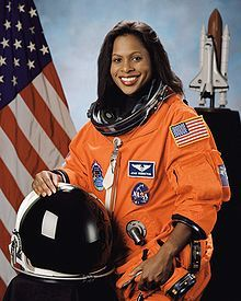 Joan Higginbotham (born August 3, 1964) was the third African American female astronaut after Mae Jemison and Stephanie Wilson. She has retired from the space program and is currently Director of Community Relations for Lowe's and serves on the Board of Trustees for North Carolina Central University. Ms, Higgenbotham is a Chicago native and member of Delta Sigma Theta.