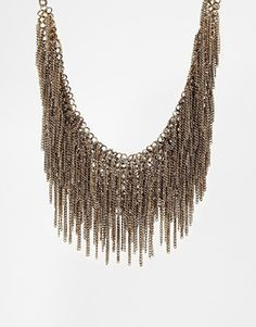 ALDO Coney Chain Drape Collar Necklace