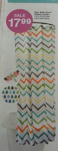 multi color chevron shower curtain. Chevron shower curtain for kids bathroom Nautical Seashell Decor Complete Bathroom Rug and Shower Curtain Set