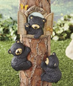 Black Bear Tree Decor