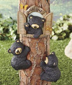 Black Bear Tree Decor