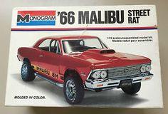 Vintage-66-MALIBU-STREET-RAT-1-24-Scale-MODEL-KIT-by-MONOGRAM-1978