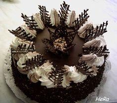Basic Cake Decorating Ideas And Tips Creative Cake Decorating, Birthday Cake Decorating, Cake Decorating Techniques, Creative Cakes, Chocolate Cake Designs, Chocolate Decorations For Cake, Chocolate Garnishes, Gourmet Cakes, Basic Cake