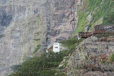 Black Bear Pass Telluride Colorado. Bridal Veil Falls Powerhouse