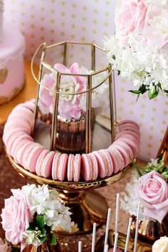 Copper, Pink & Gold Princess Party