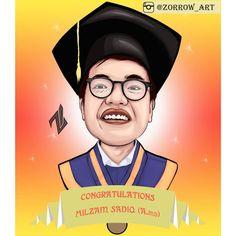 "Okta_Fazar di Instagram ""Congratulations🎓 . Reload . Caricature . For order information, DM to me/ Click link My Bio!! . . . . ____________________ #medan…"" Medan, Congratulations, Gallery, Movies, Movie Posters, Instagram, Art, Art Background, Film Poster"