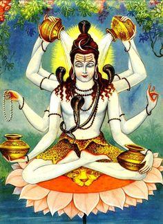 Maha Mrityunjaya (Conquerer of Death) Shiva