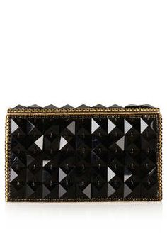 DIAMANTE CLUTCH BAG #DearTopshop